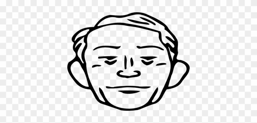 Coloring Trend Thumbnail Size Surprised Face Clip Art - Gesicht Mann Clipart #324107