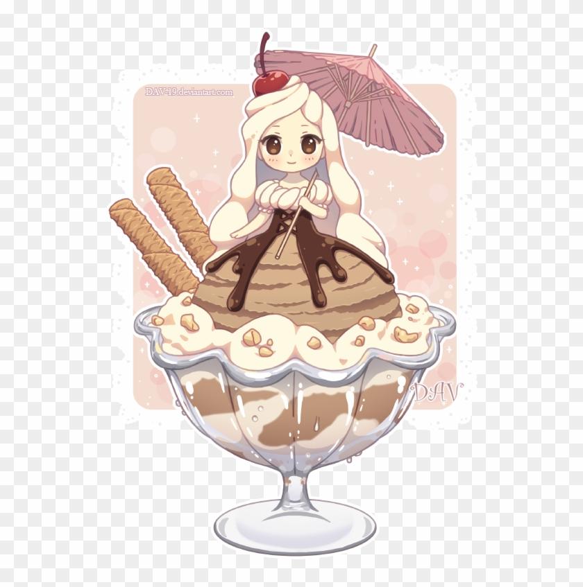 anime ice cream animated gifs photobucket kawaii ice cream girl