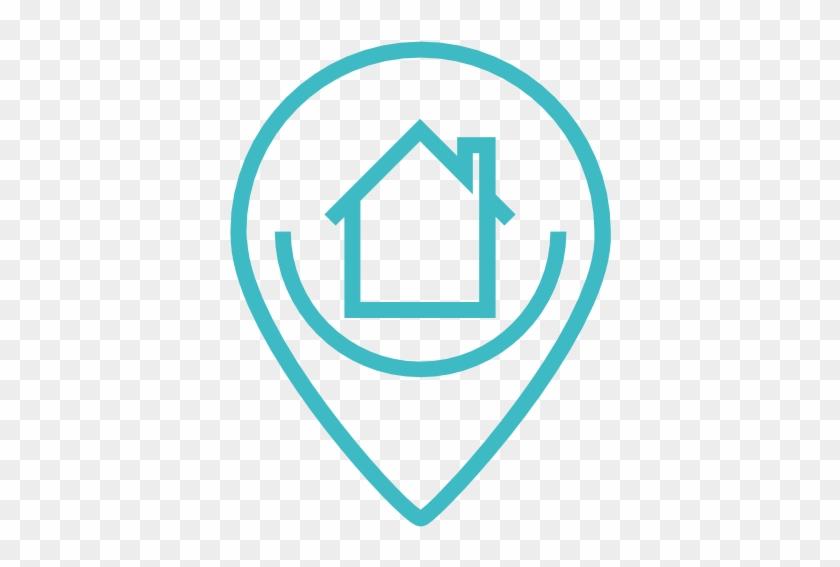 Puntero De Ubicación: Icono Ubicacion, Mapa, Puntero, Casa, Hogar