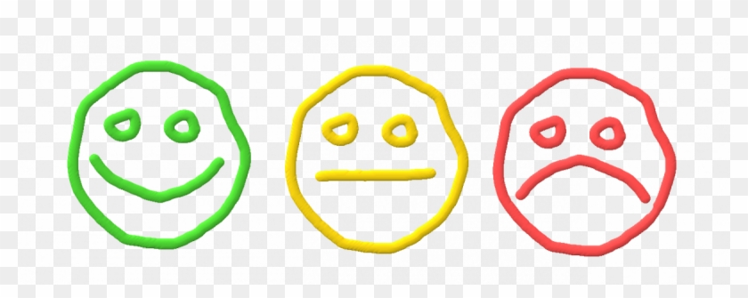 Smiley Face Sad Face Straight Face - Happy Neutral And Sad Faces #324444
