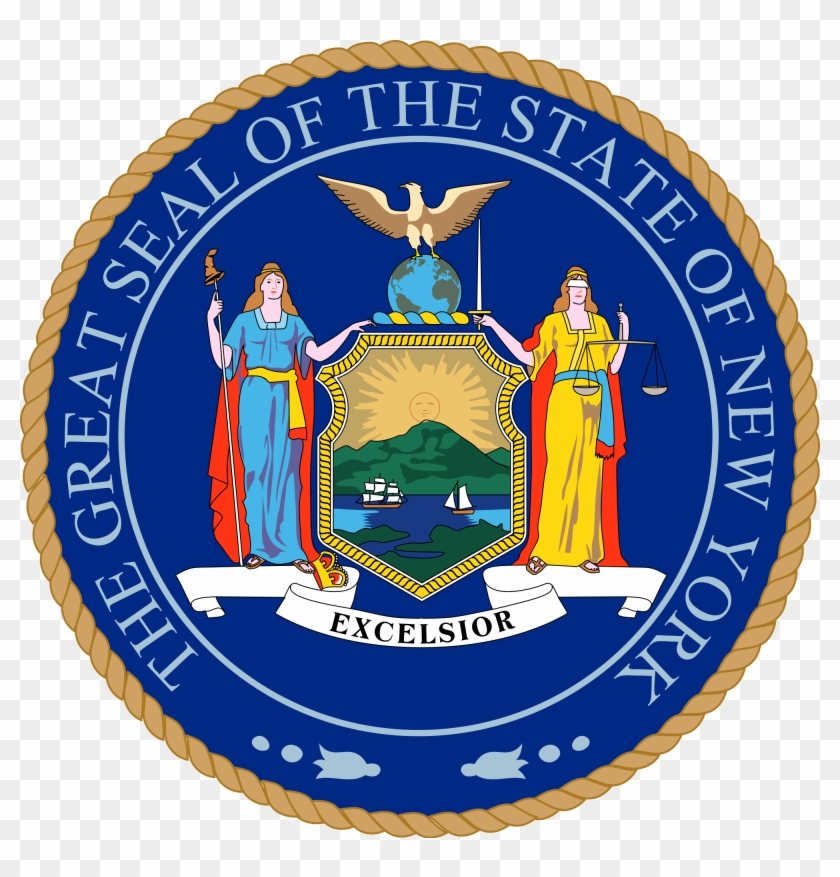 Seal Of New York - New York State Seal #324446