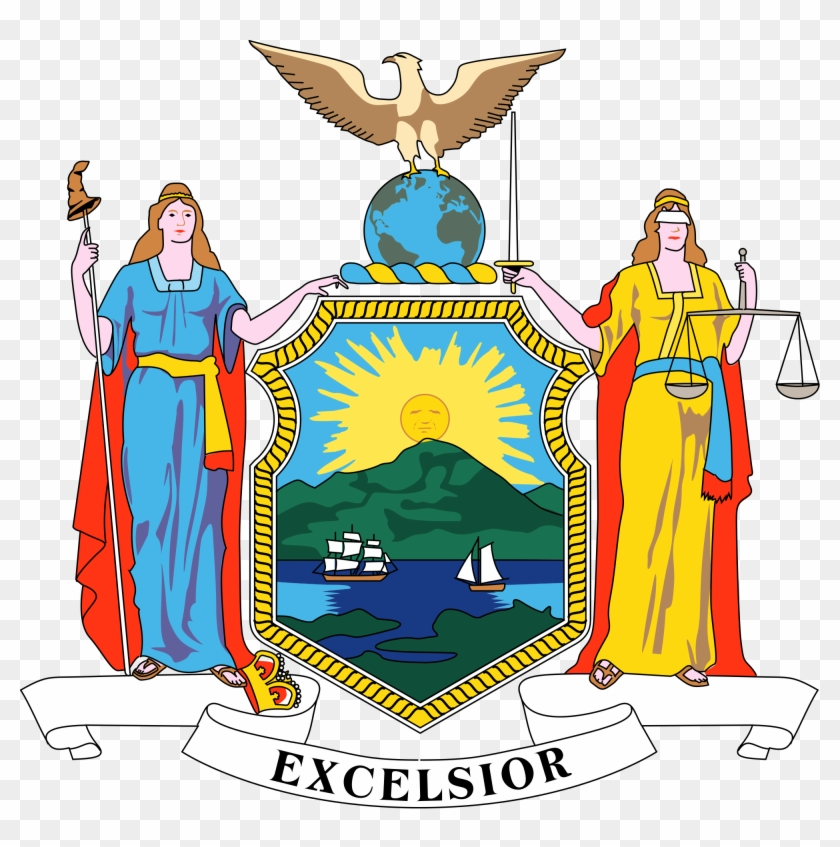 New York State Seal - New York State Flag 2016 #324482