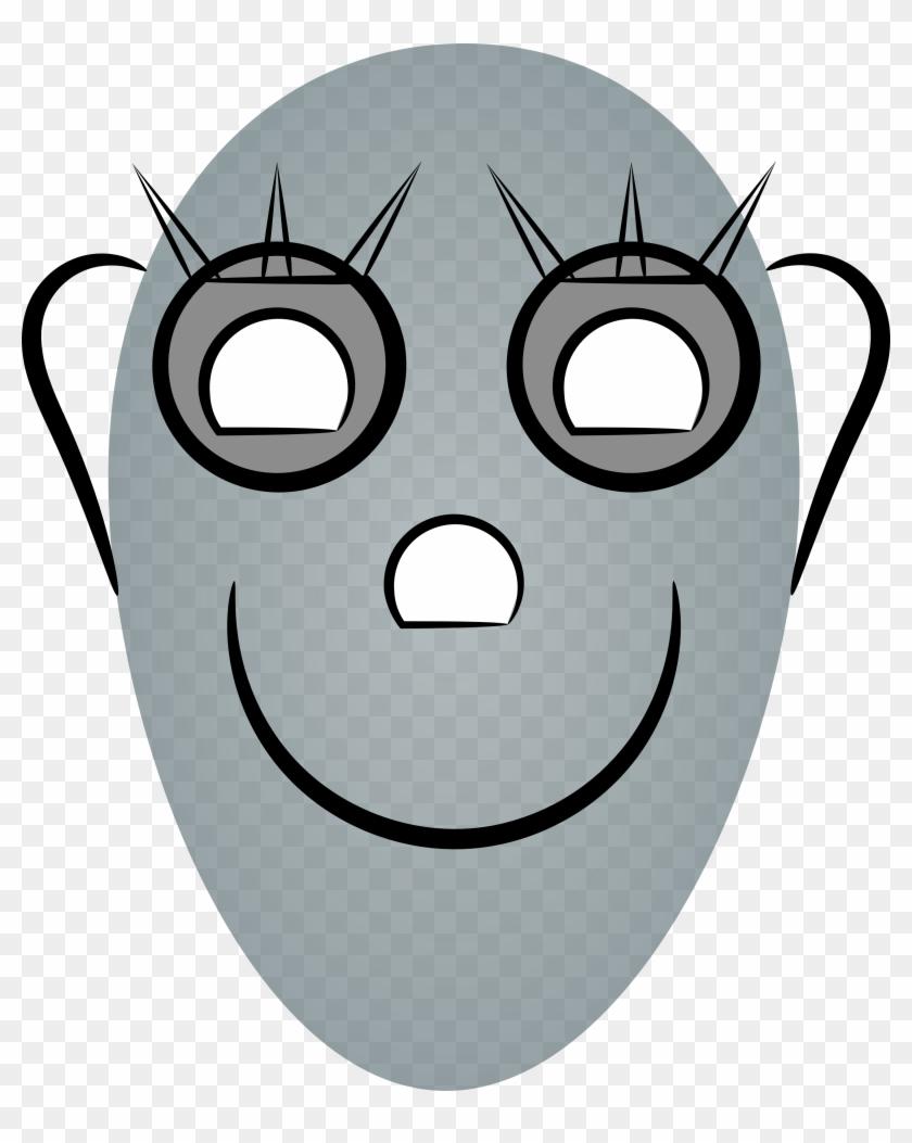 Female Robots Face - Cartoon Robot Face - Free Transparent PNG ...