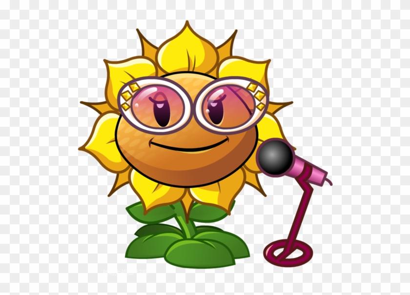 Singing Sunflower 1 - Plants Vs Zombies 2 Sunflower Singer #324878