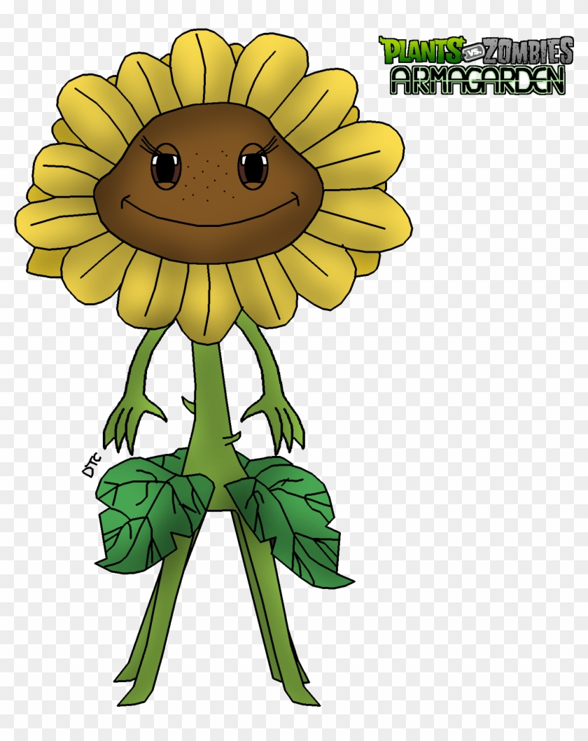 Plants Vs Zombies Peashooter And Sunflower Wwwimgkid Rose Supreme Armagarden Free Transparent Png Clipart Images Download
