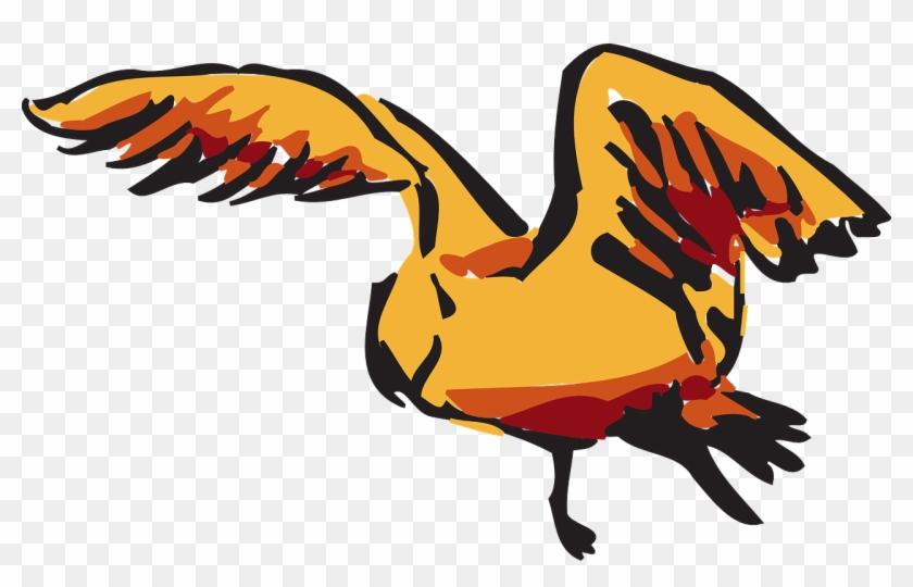 Brown Bird Flying Wings Png Image - Brown Bird Flying Wings Png Image #325027
