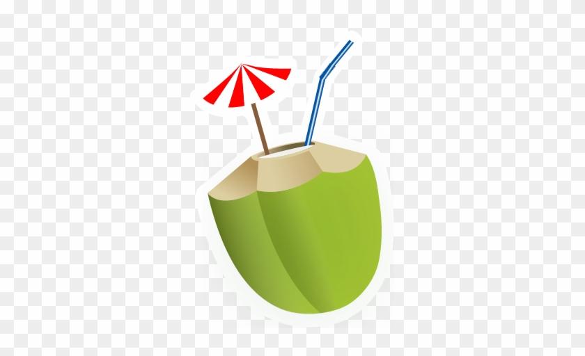 Coconut Clipart Juice