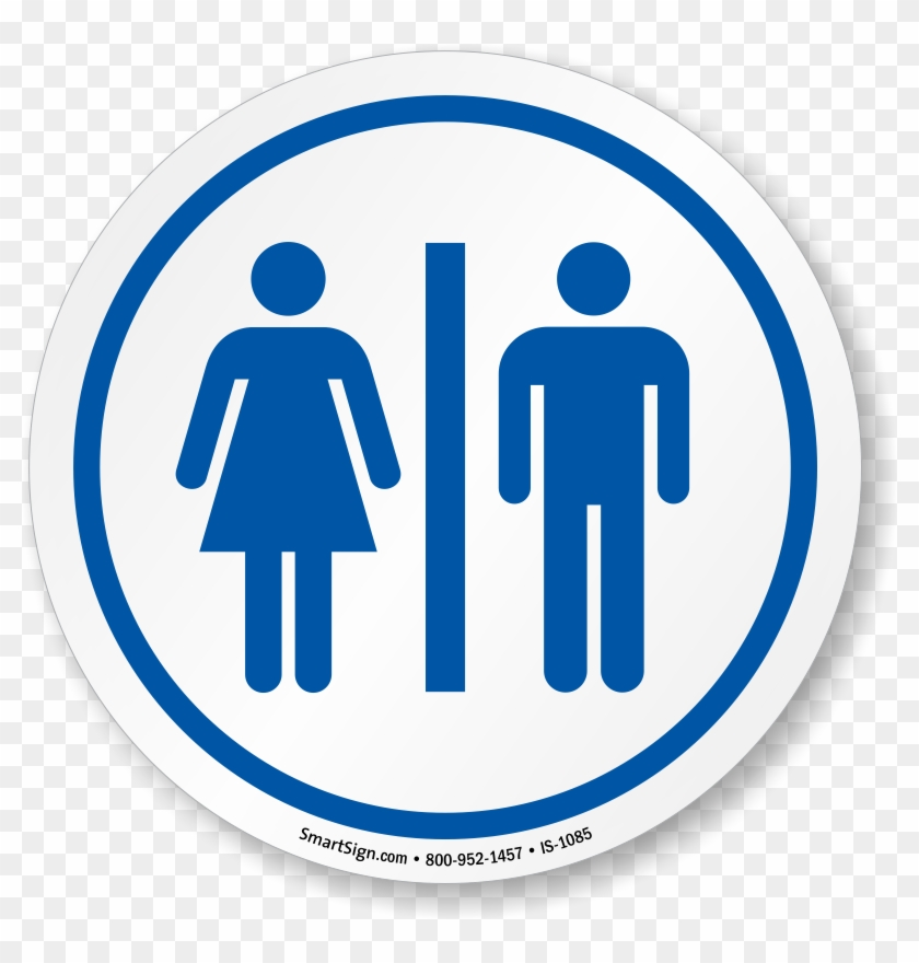 restrooms symbol iso circle sign bathroom door signs printable