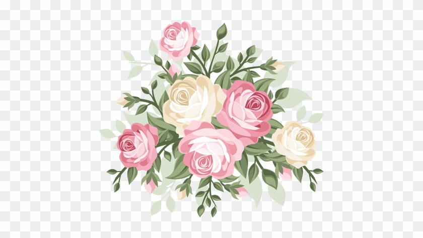 Flowers Vector Drawing Png: Rose Flower Vector Png