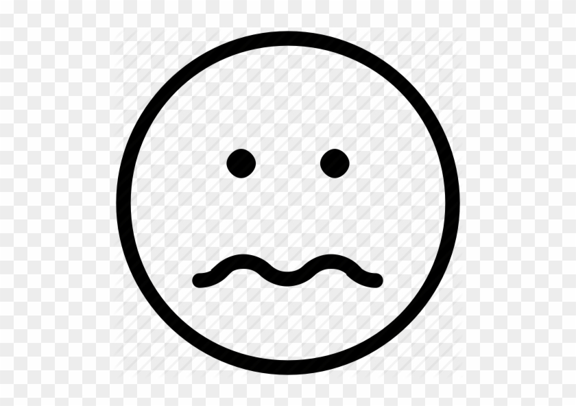Confused - Sad Face Icon #325342