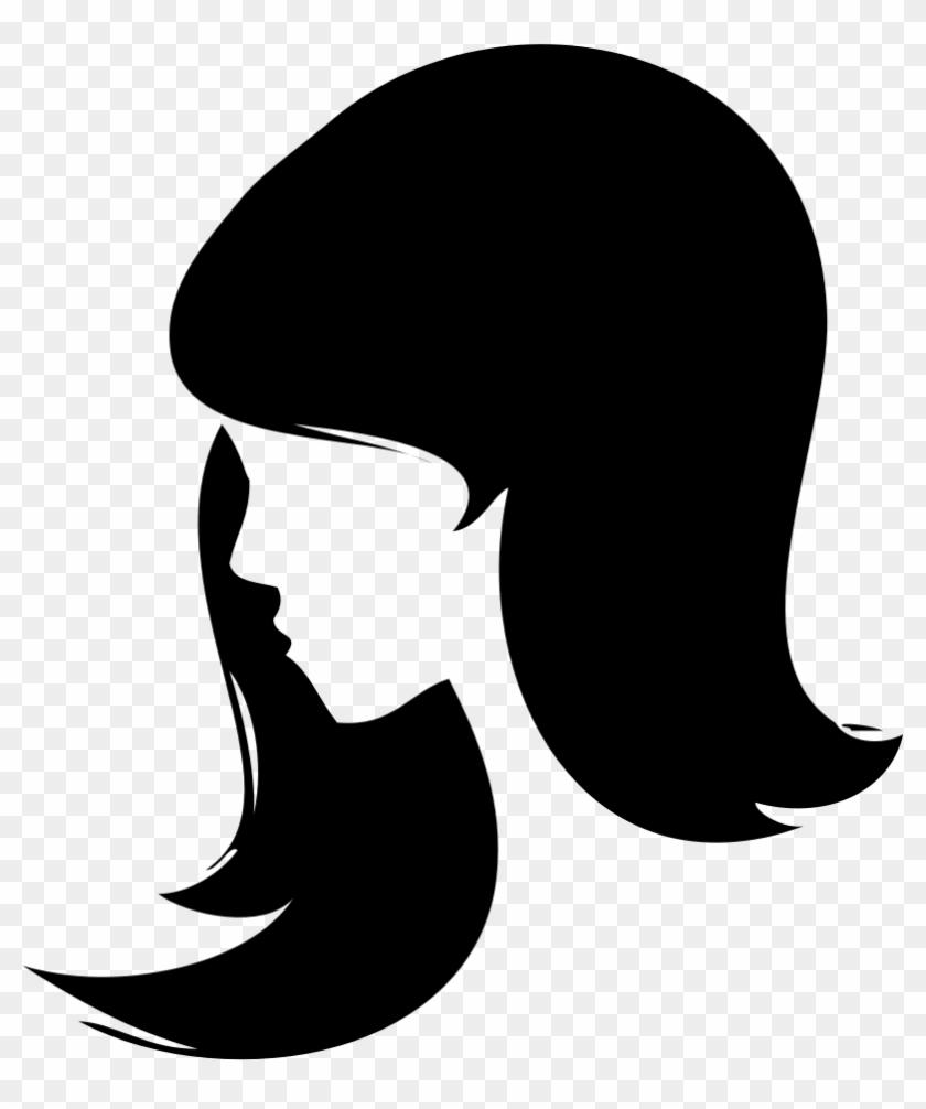 Woman Face Silhouette Clip Art 101 Clip Art - Woman Face Silhouette Png #325397