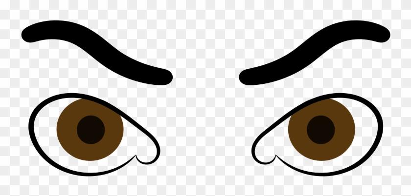 Medium Image - Angry Eyes Clipart #325493