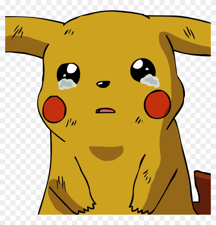 By Twistedfevercomics On Clipart Library - Crying Pikachu Png #325598
