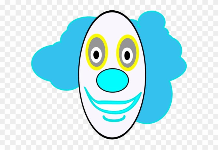 Clown Face Clip Art - Clown Face #326095