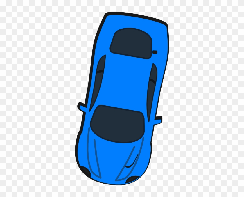 Clipart Car Birds Eye Blue Top View 260 Clip Art At - Cartoon Car Birds Eye View #326754