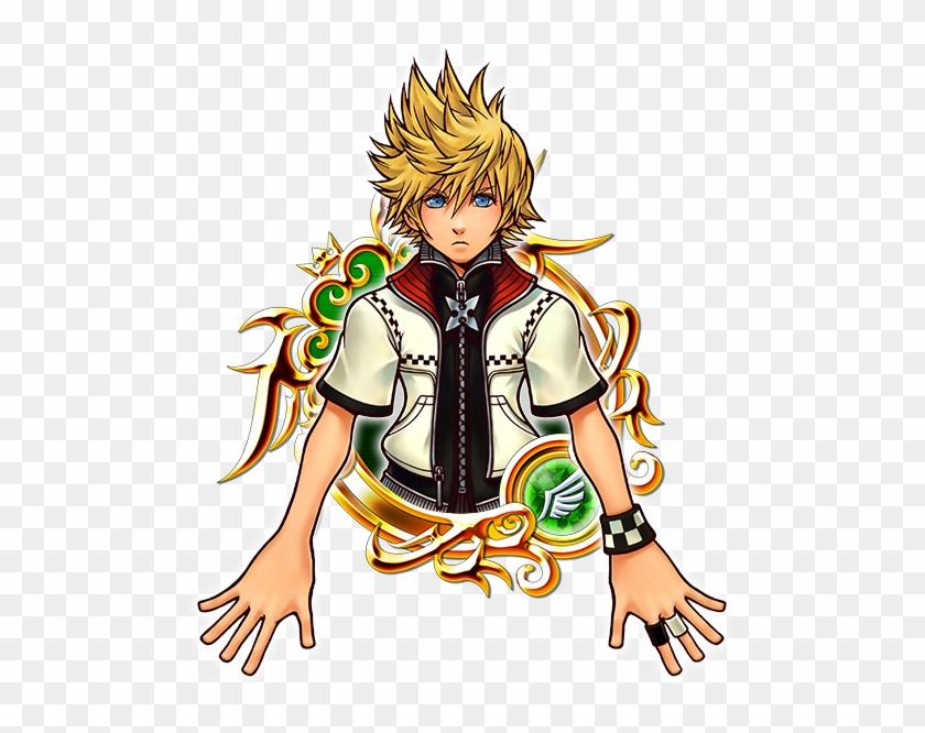 Kingdom Hearts - Kingdom Hearts Roxas 1st Cosplay Costumes #326829