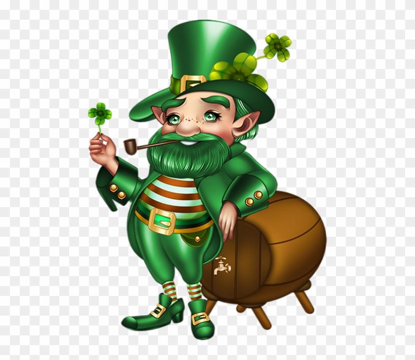 Tube St Patrick, Lutin ♧ Irish Leprechaun Png, March - March 17 #326922