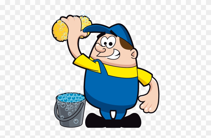 Shop > Car Wash Man - Car Wash Man Cartoon #326937