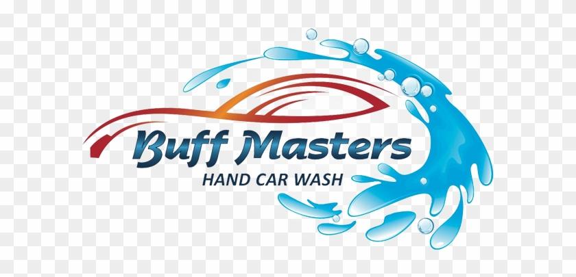 Buff Masters Hand Wash Professional Hand Car Washing - Hand Car Wash Logo #327026
