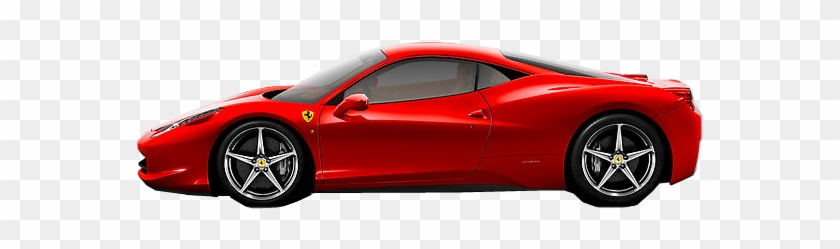 Ferarri Clipart Supercar Ferrari 488 Side View Free Transparent Png Clipart Images Download