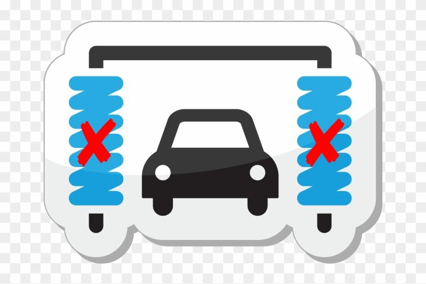 Welcome To Auto Spa - Car Wash Icon Vector #327162