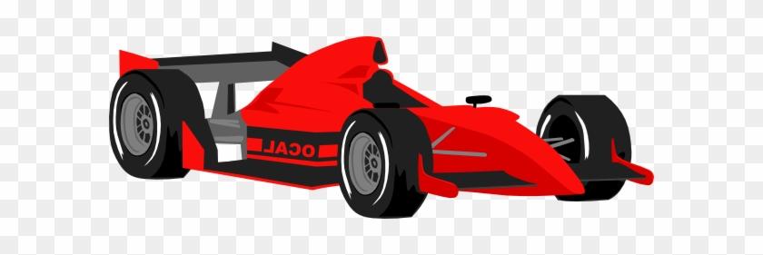 Clip Art Race Car - Racing Party Invitation-customizable Card #327230