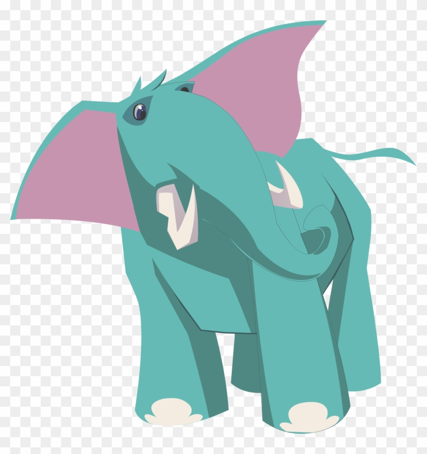 Blue Elephant - Animal Jam Elephant #327281