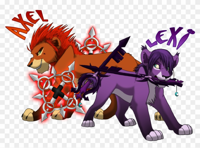 Lion Sora From Kingdom Hearts 2 Images Axel And Lexi - Kingdom Hearts 358/2 Days #327250