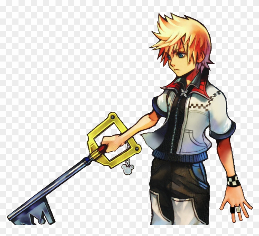 Xjillvalentinex Games Kingdom Hearts Roxas Sora Multicolored - Kingdom Hearts Hd 2.5 Remix Limited Edition (ps3,d) #327265