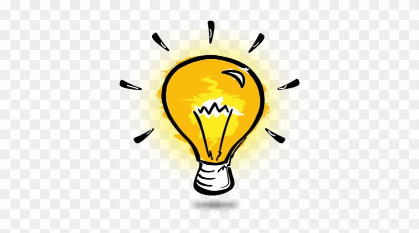 Simple Light Bulb Thinking Clip Art Idea Generation - Light Bulb Clipart #327351