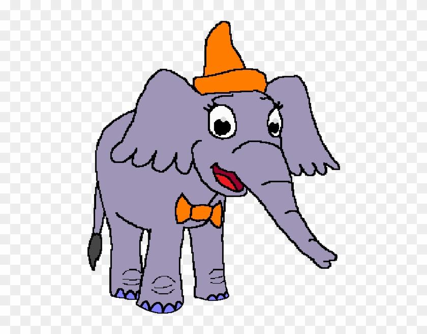 Jenny The Elephant - Indian Elephant #327410