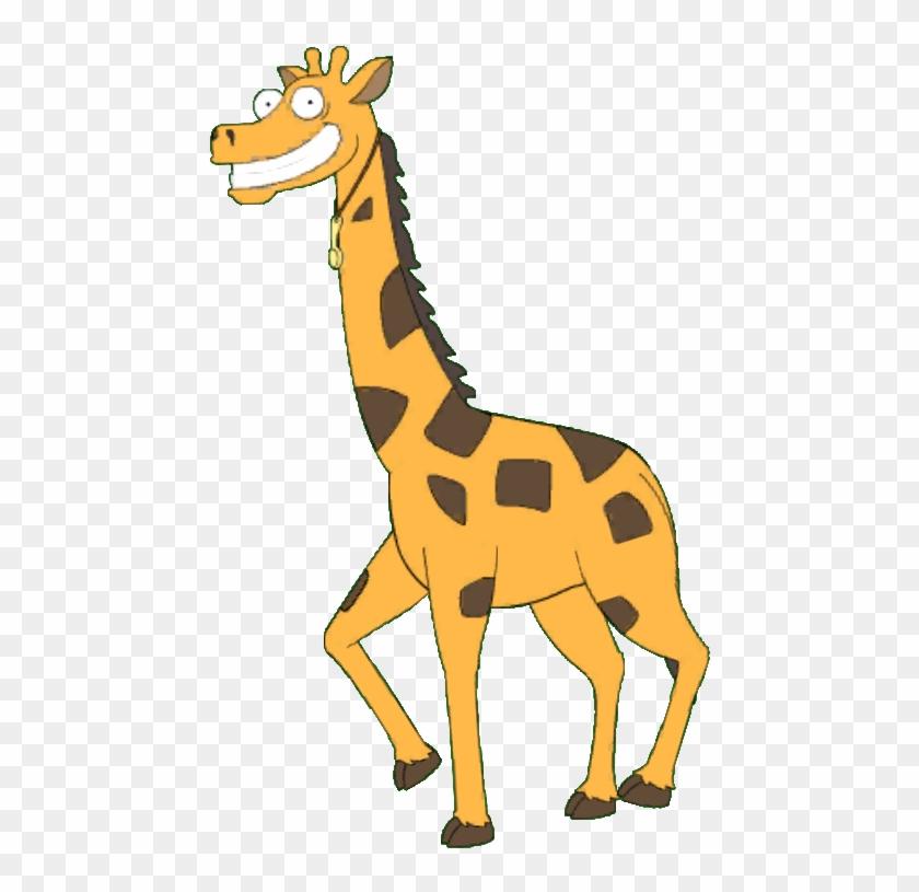 Coked Up Giraffe - Santa's Little Helper #327540