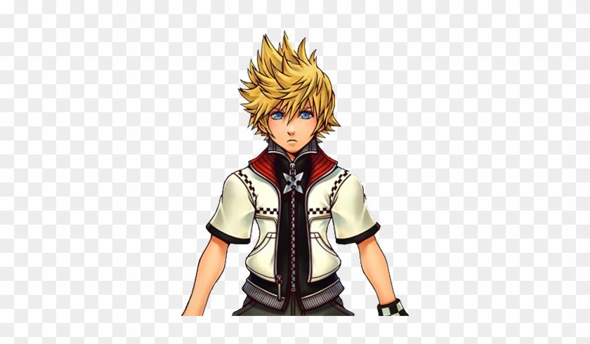 Fancy Roxas Kingdom Hearts Wallpaper Cutout Render - Kingdom Hearts Roxas Necklace #327738
