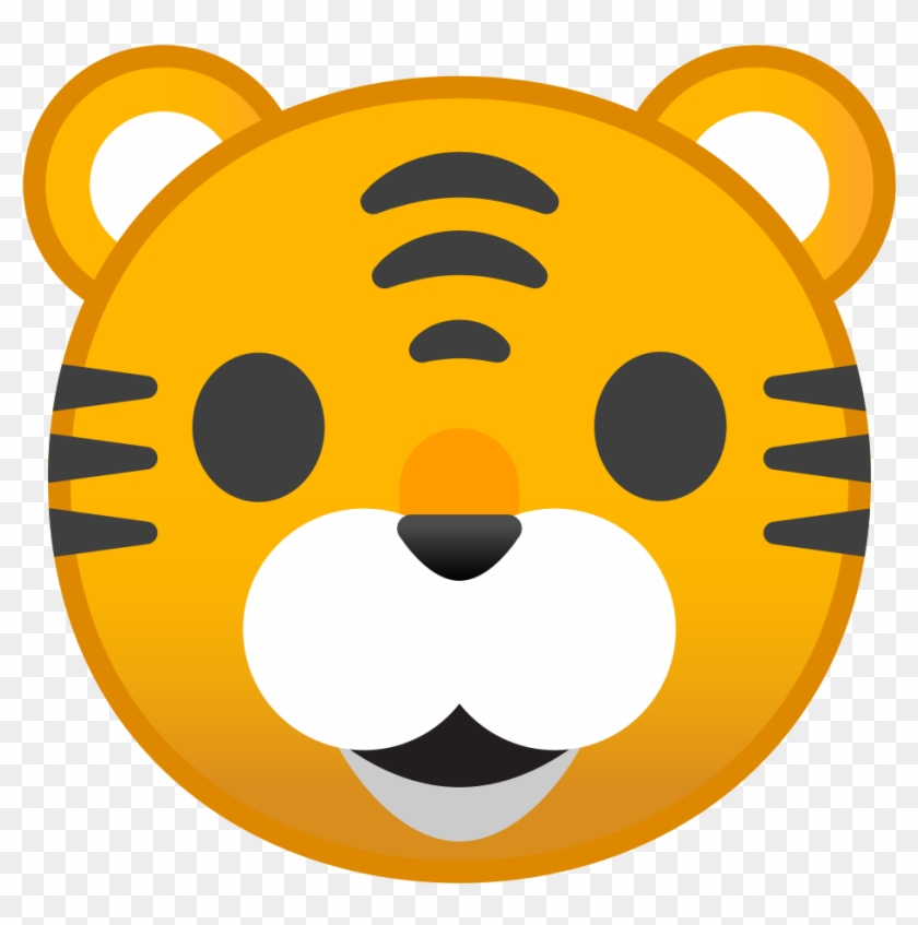Tiger Face Icon - Tiger Animals Png Icon #327829