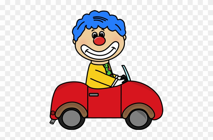 Circus Clown Car Clip Art - Circus Clown Car Clipart #328114