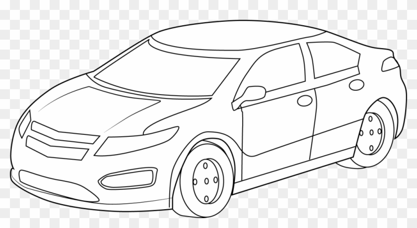 - Free Coloring Pages Sports Cars Inspiration Fresh Cool - Car Clipart Black  And White - Free Transparent PNG Clipart Images Download
