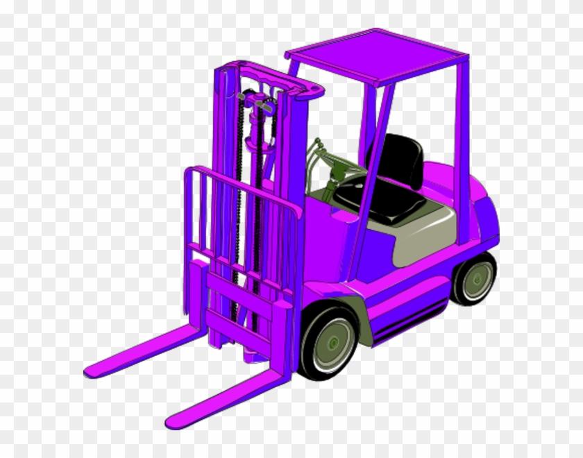 Tow Truck Clipart - Forklift Clip Art #328303