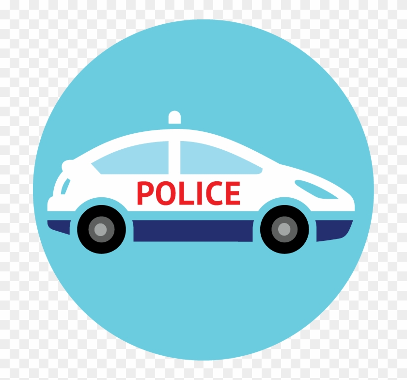 Policecarlocater - Icon Police Car Png #328584