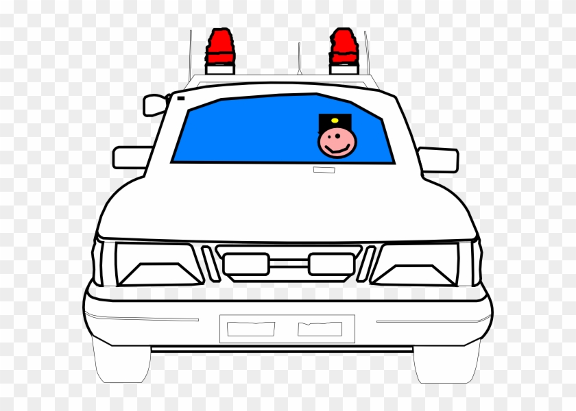 Police Car Clip Art At Clker - Police Car Clip Art #328624