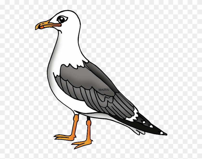 Free United States Clip Art By Phillip Martin, Utah - Utah State Bird Clipart #328630