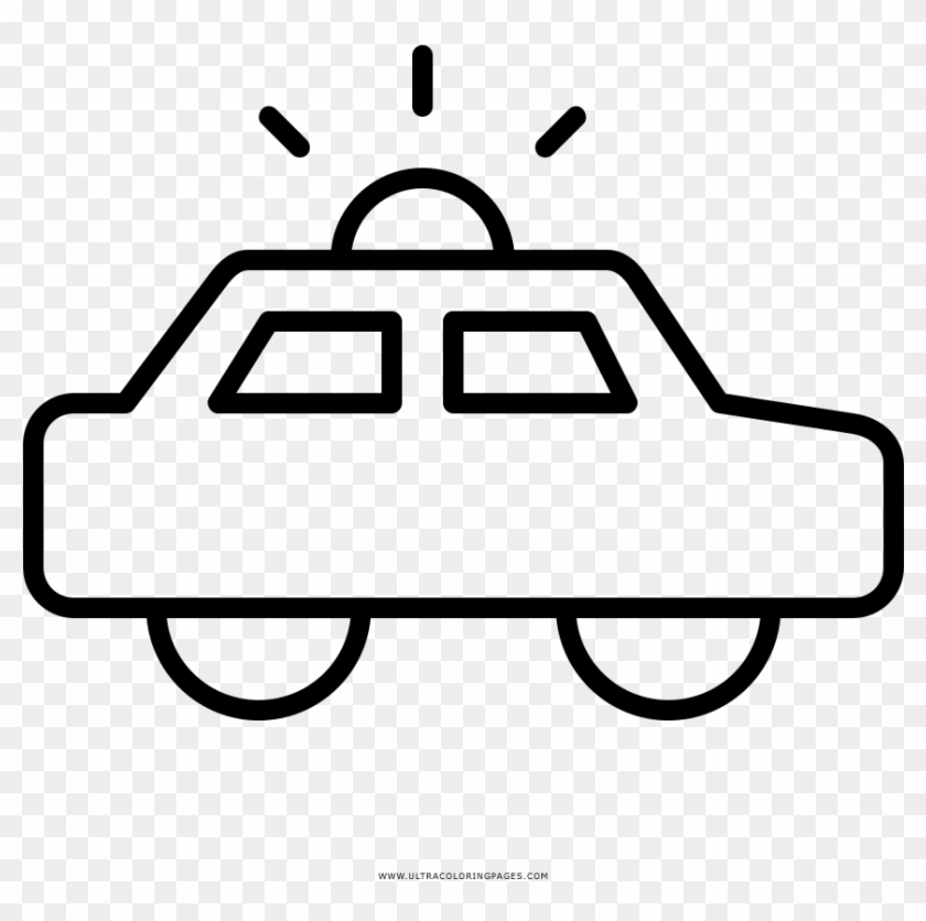 Police Car Coloring Page Drawing Free Transparent Png Clipart Images Download