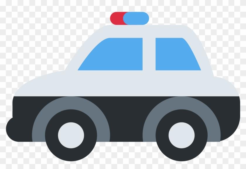 Police Car - Police Car Emoji Twitter #328769
