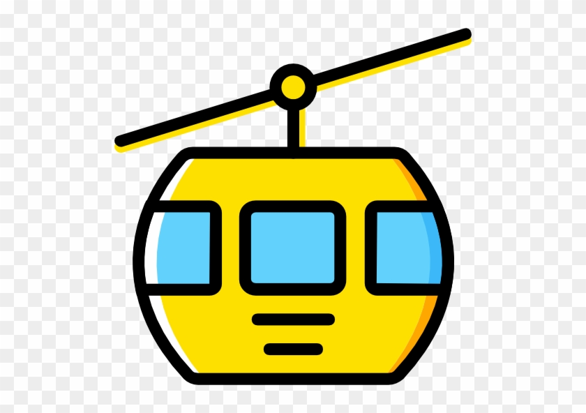 Cable Car Cabin Free Icon - Cable Car Png #328981