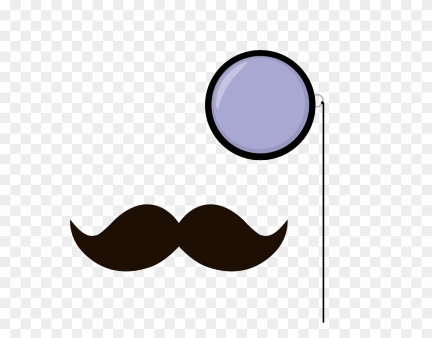 Monocle Clipart - Mustache Wallpaper