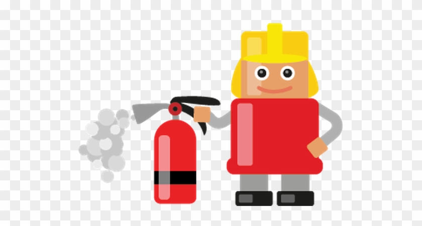 Fireman With Various Objects And Situations - Firefighter #329100