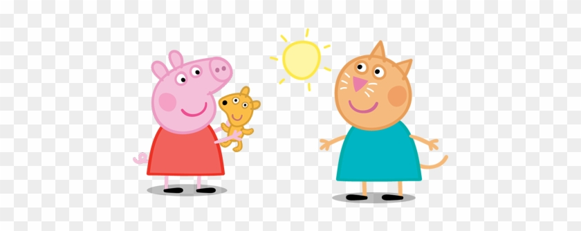 Peppa Is A Very Sweet And Funny 5 Year Old Piglet - Peppa Pig Png #329187