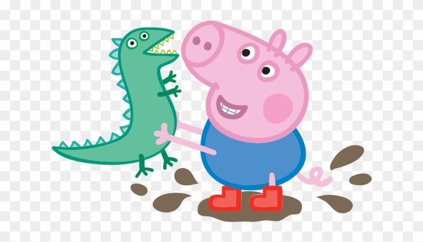 Peppa Pig George And Dinosaur #329562