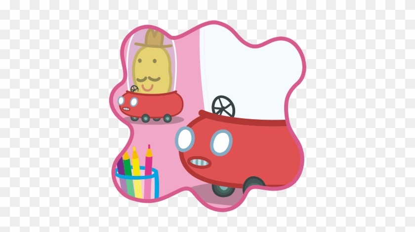 Peppa Pig Drawing Mr Potato Peppa Pig Car Free