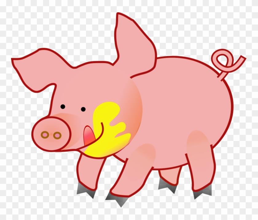 Cute Pig Clipart Funny Pig Clipart Clipart Panda Free - Clip Art Animals Pig #329665