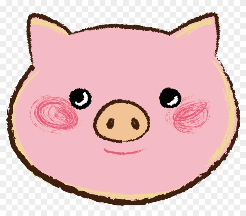 豚 顔のアップ イラスト Acar Free Transparent Png Clipart Images